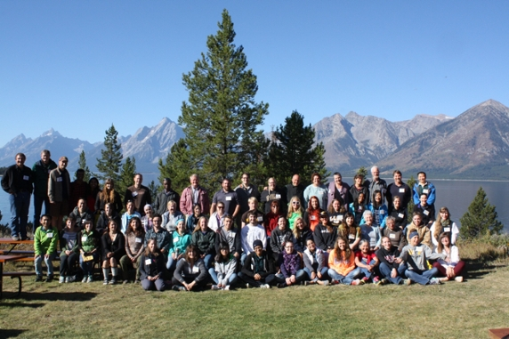 Wyoming INBRE Research Network Retreat 2015, University of Wyoming / National Park Service Research Station, Grand Teton National Park, WY.