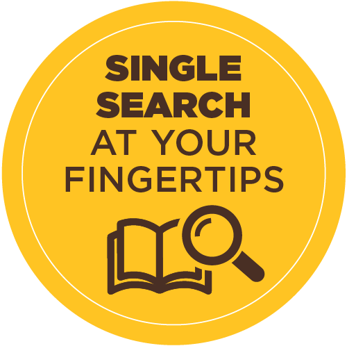 Single search at your fingertips