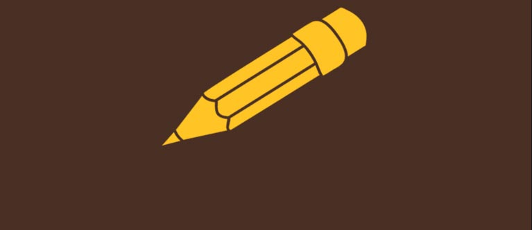 Icon of a pencil