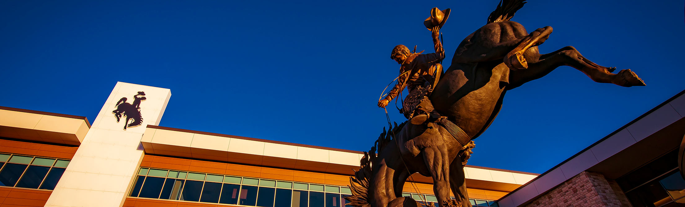 Image of Wyoming Cowboy statue