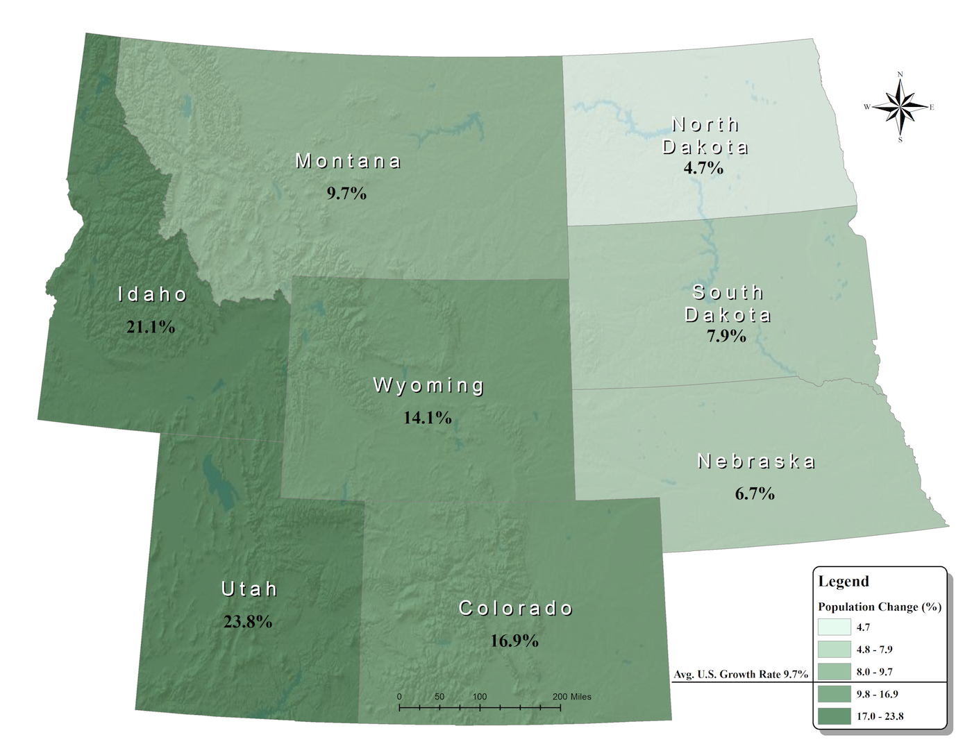 Rocky Mountains Wyoming Map.Wyoming Open Spaces Initiative Ruckelshaus Institute Haub School