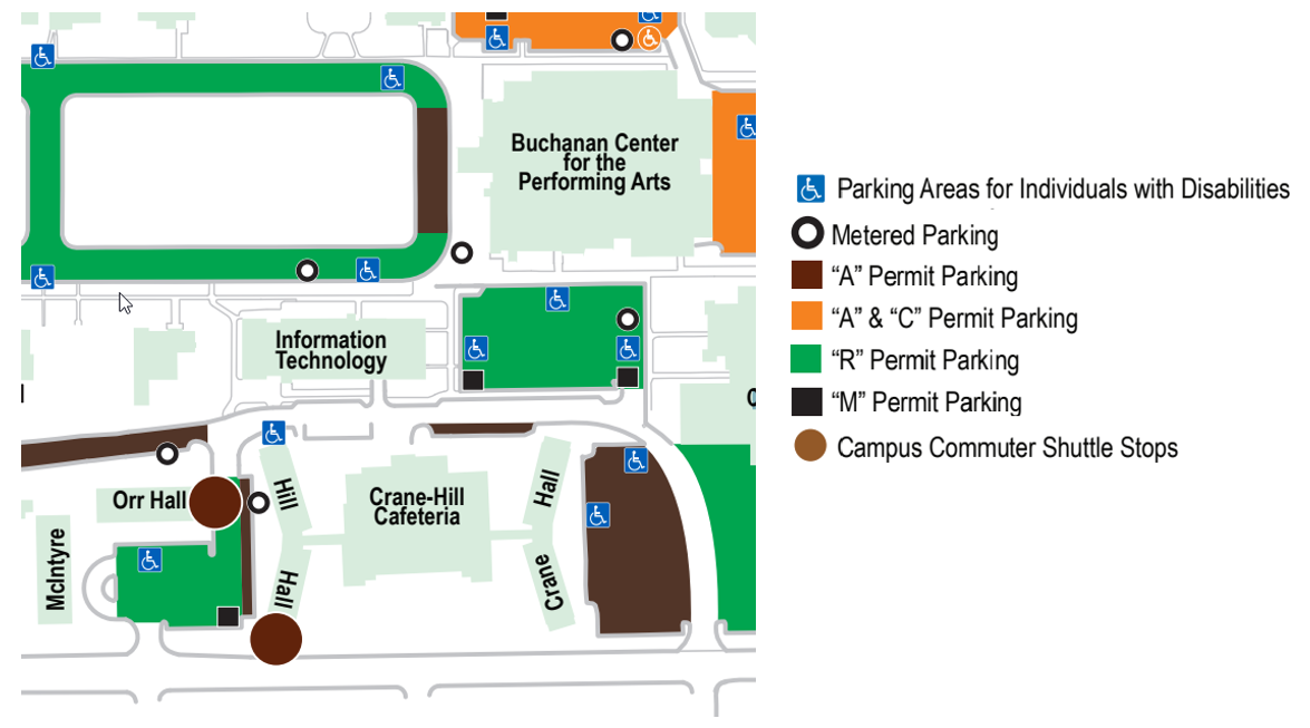 ITC Parking Map