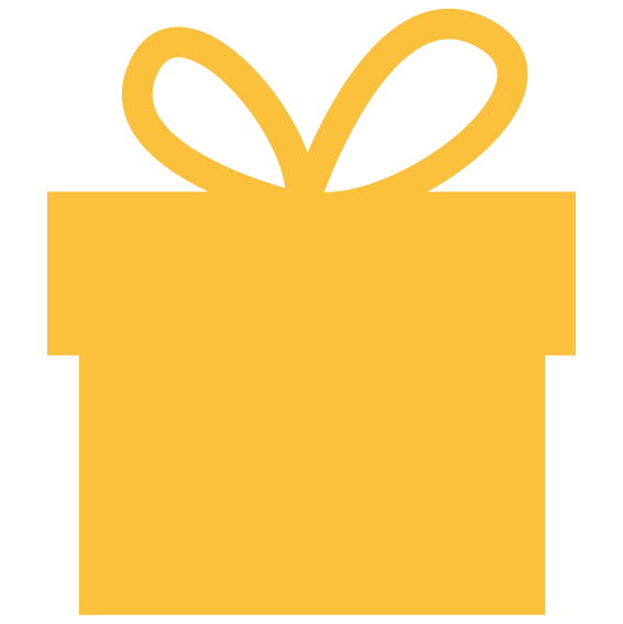 gold box with bow on top