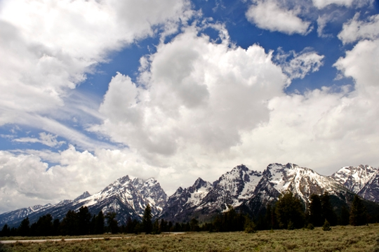 picture of the Tetons