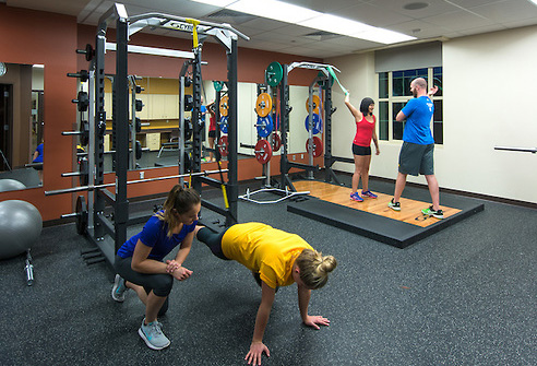 personal training  group fitness  campus recreation