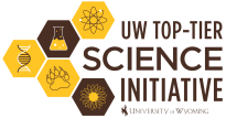 UW Top-Tier Science Initiative graphic with 5 little icons
