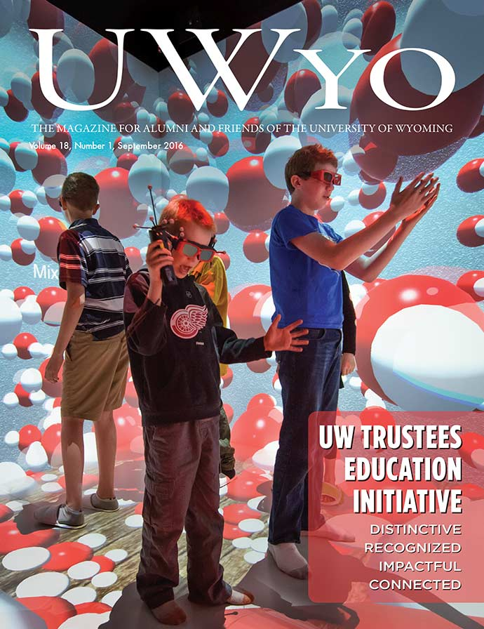 UWyo Magazine Cover for September 2016